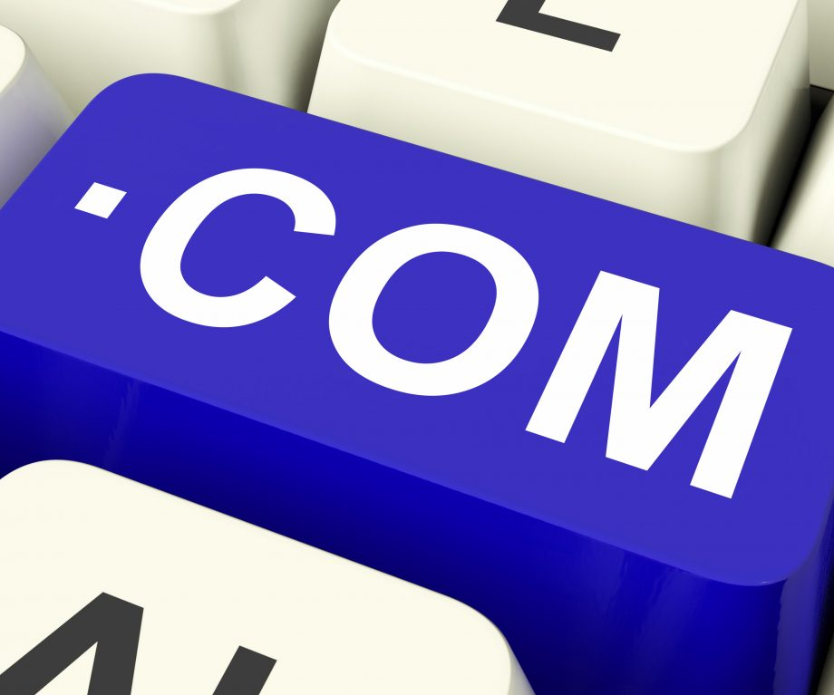 Com Keys Meaning Domain Name Or Internet